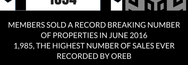 Ottawa Real Estate News   June 2016 sets record for the highest number of sales ever